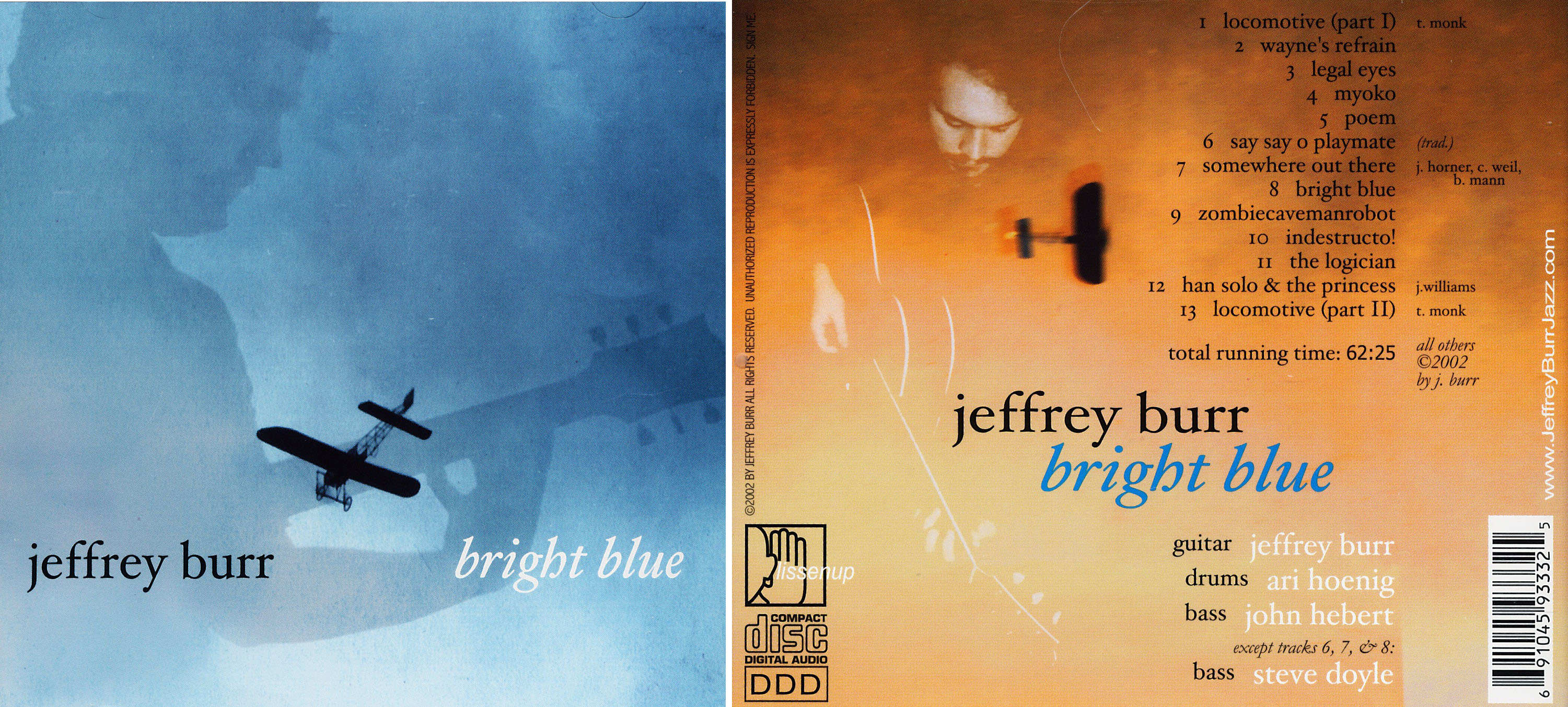 Jeffrey Burr | Bright Blue