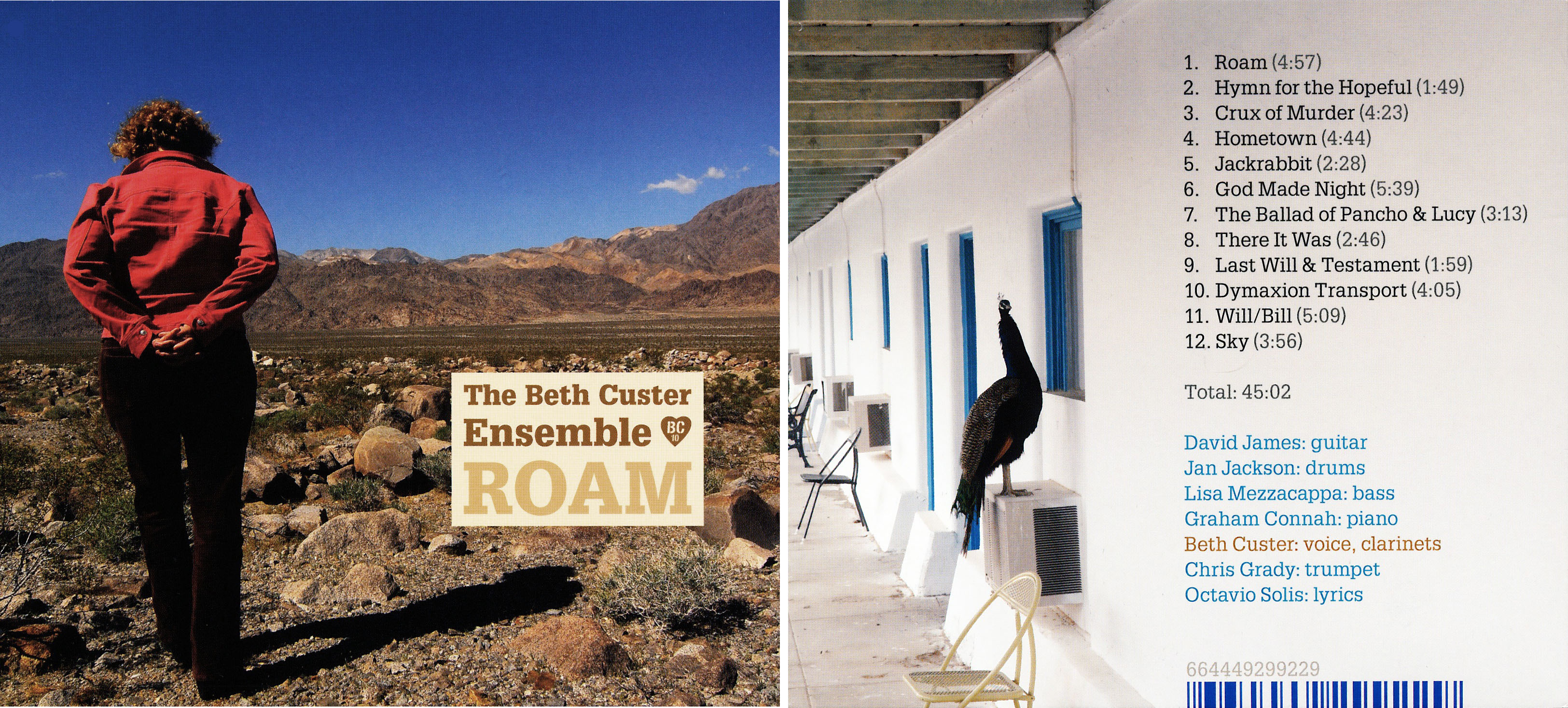 The Beth Custer Ensemble | Roam