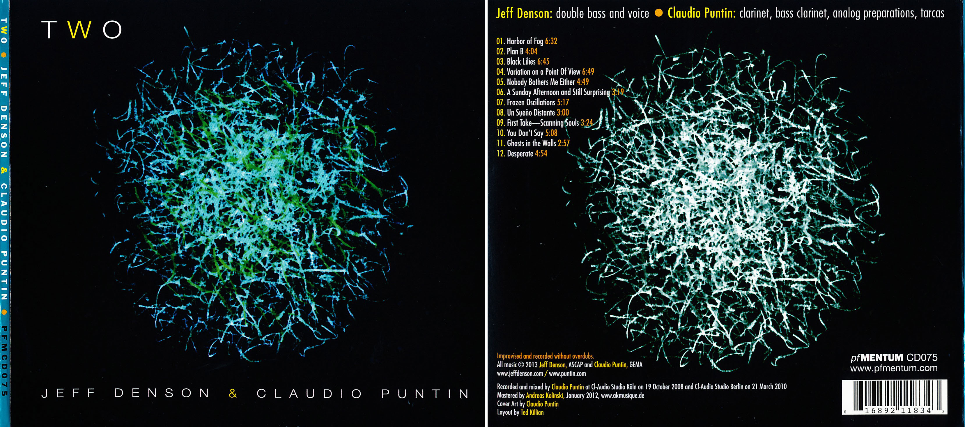 Jeff Denson & Claudio Puntin | Two