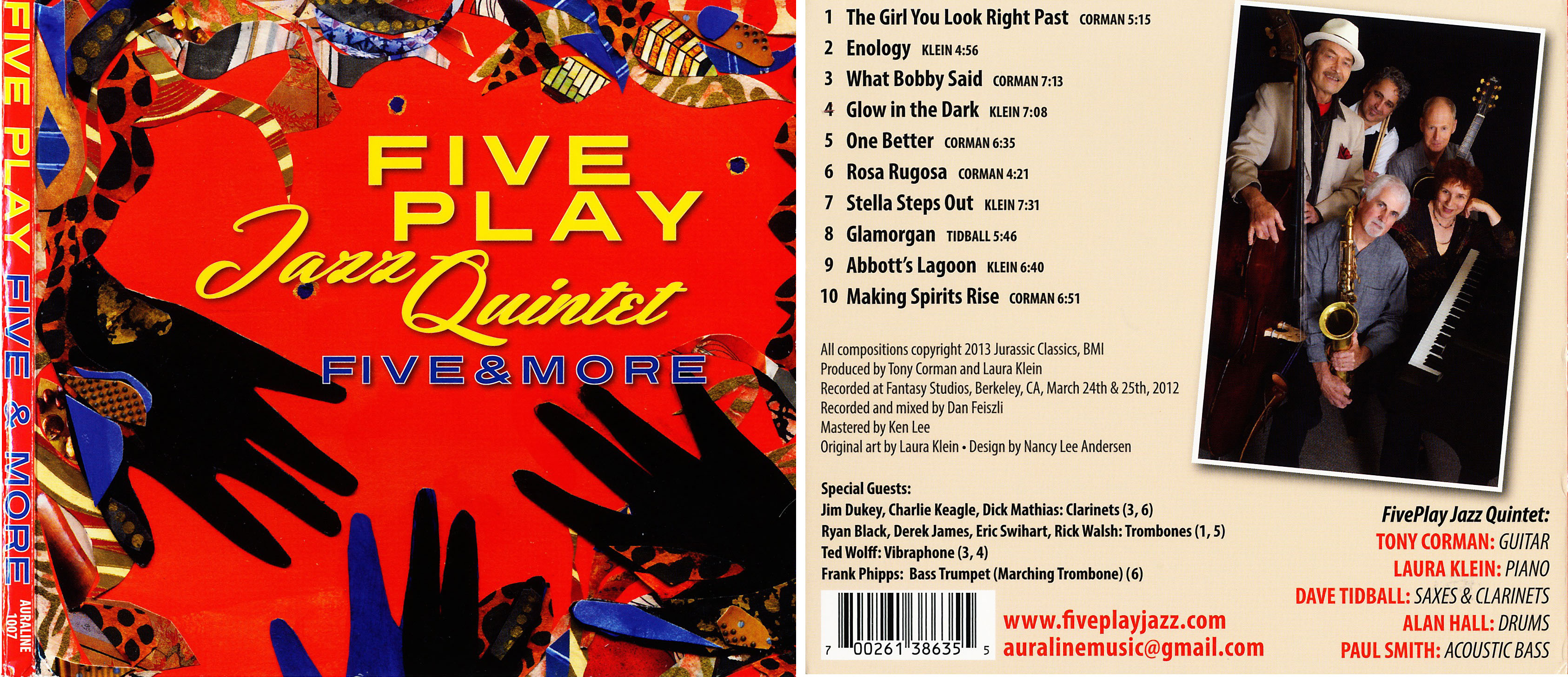 Five Play Jazz Quintet | Five & More