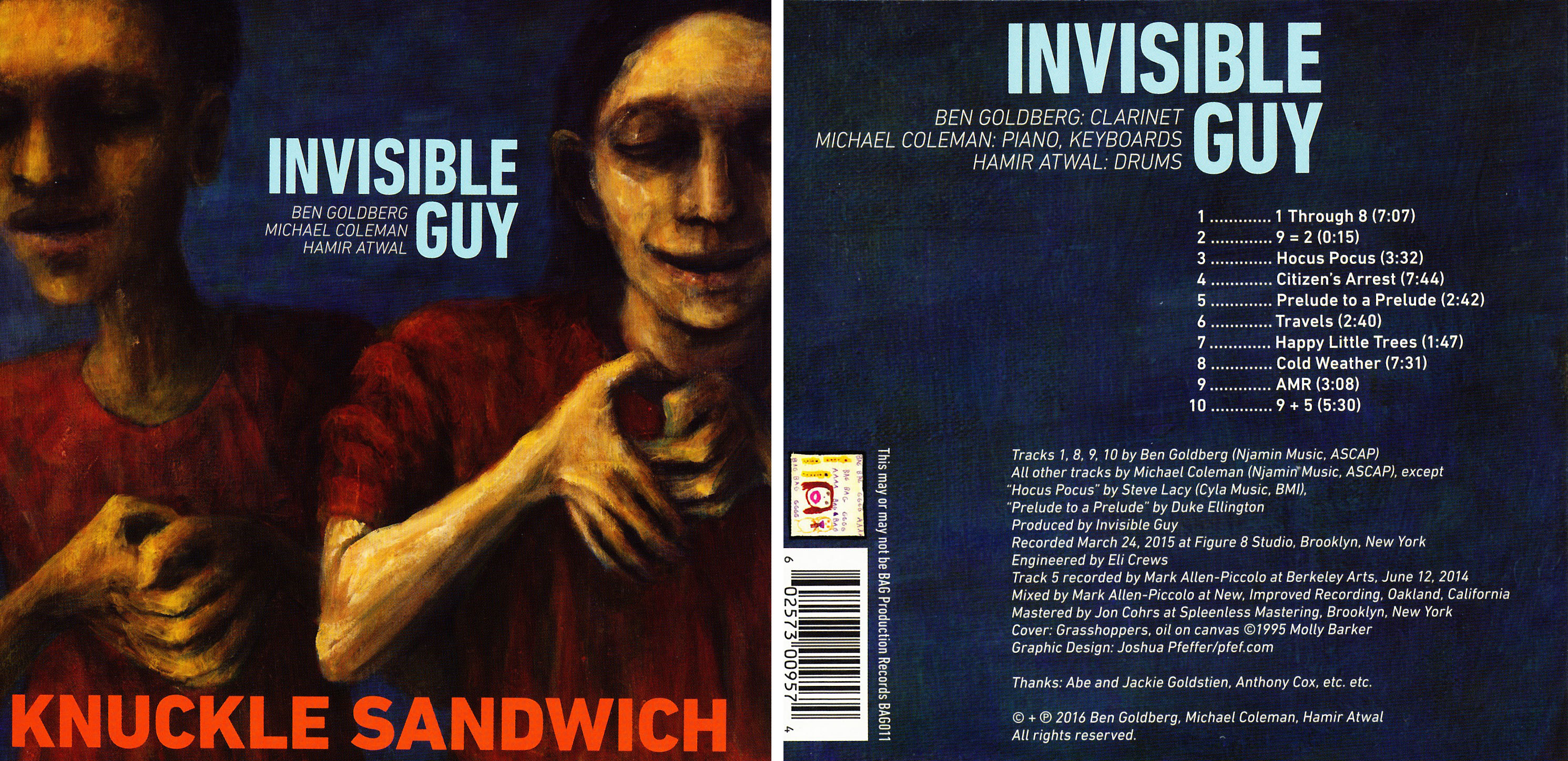 Ben Goldberg/Michael Coleman/Hamir Atwal | Invisible Guy