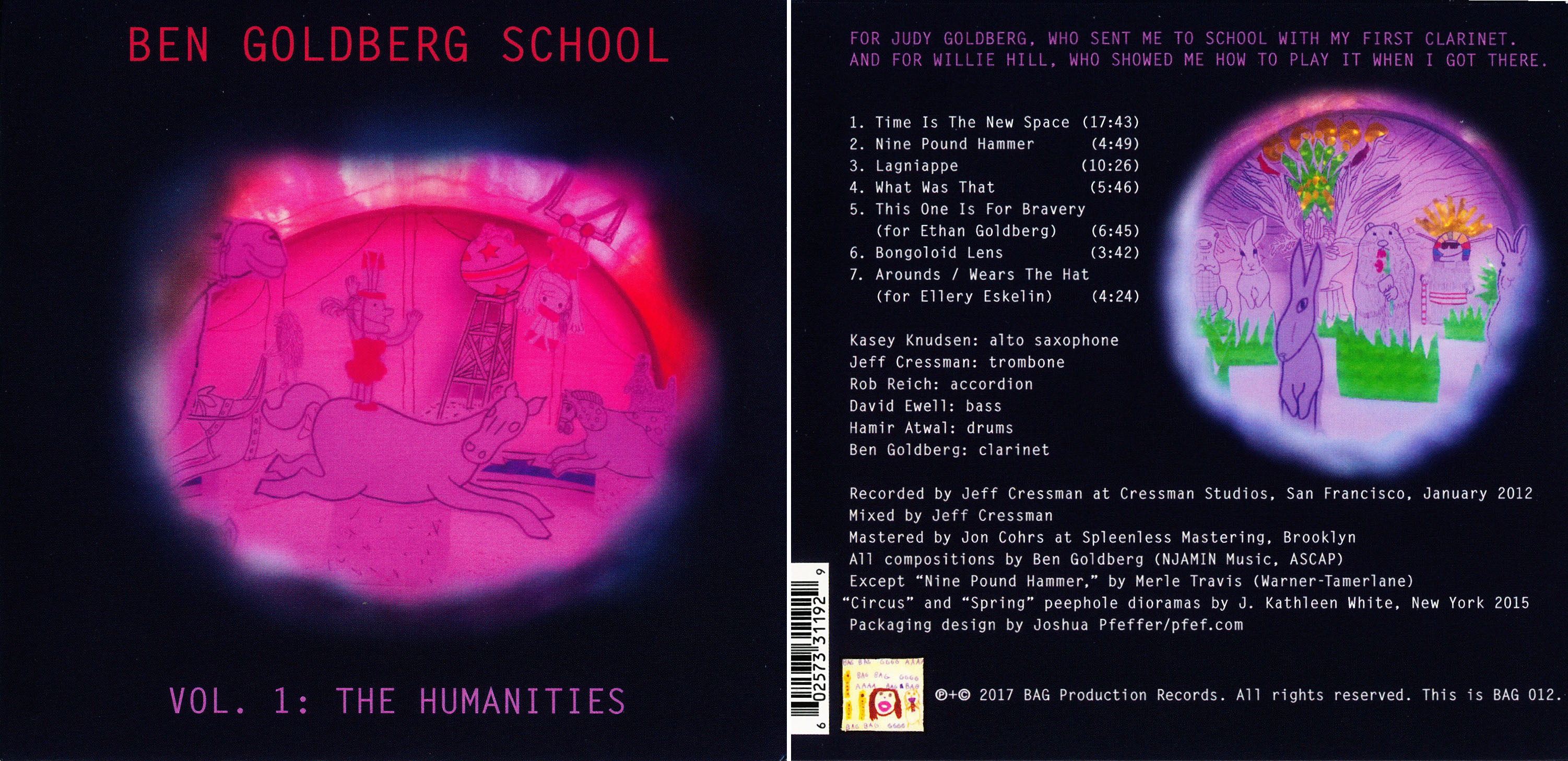 Ben Goldberg School | Vol. 1: the Humanities