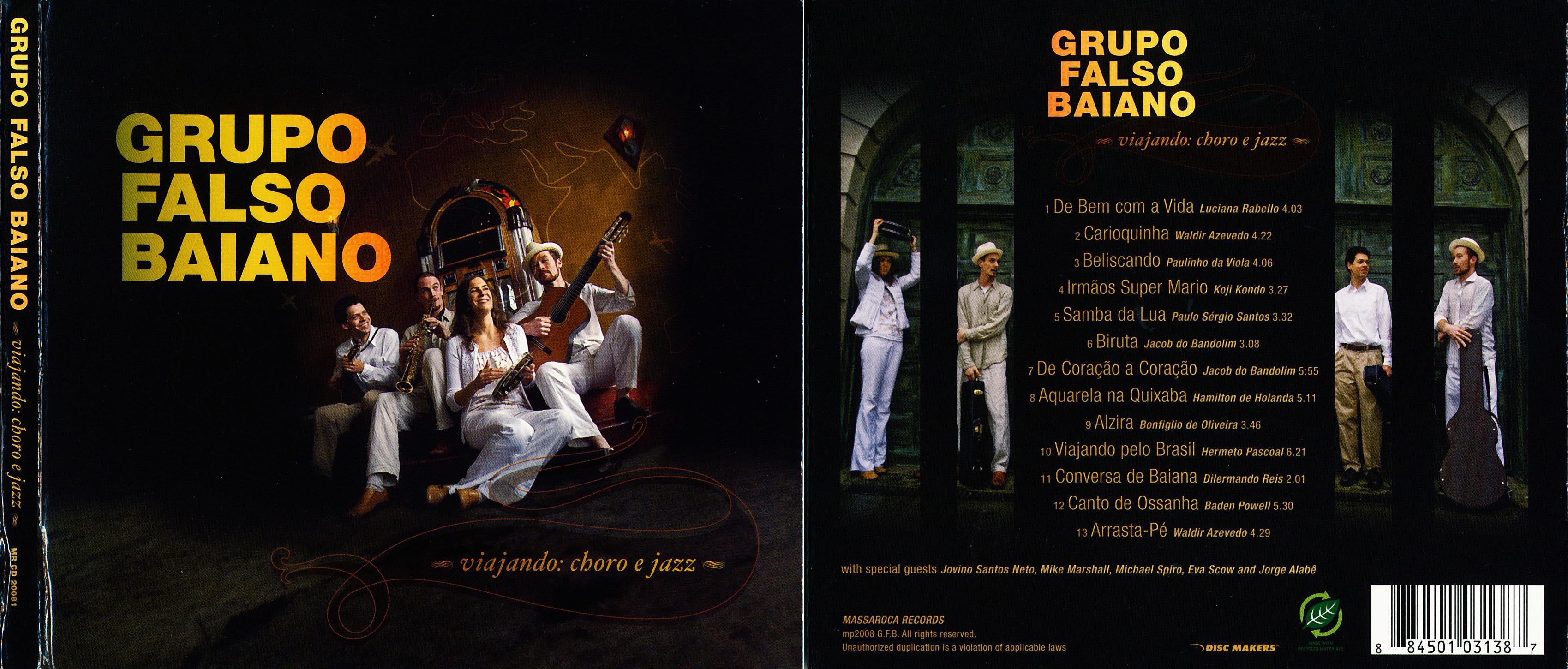Grupo Falso Baiano | Viajando Choro e Jazz