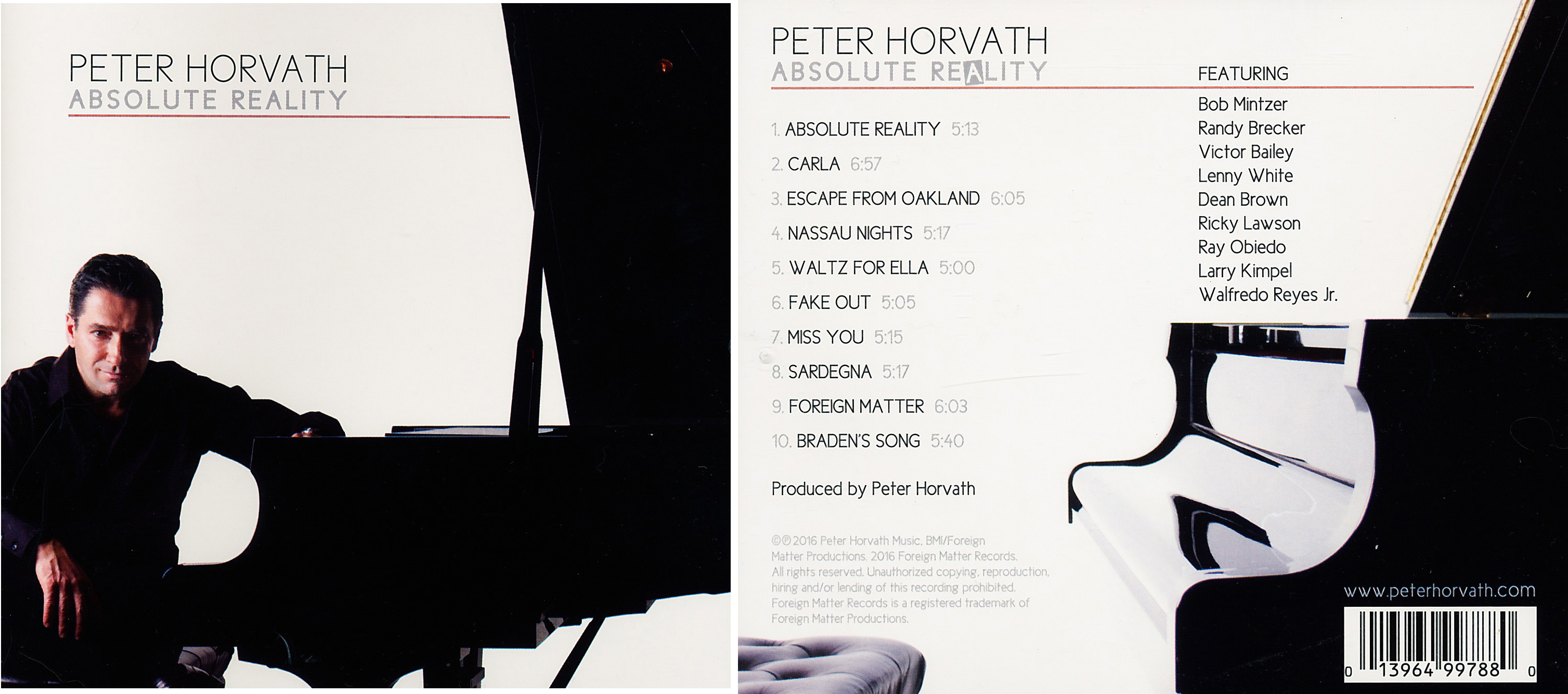 Peter Horvath | Absolute Reality