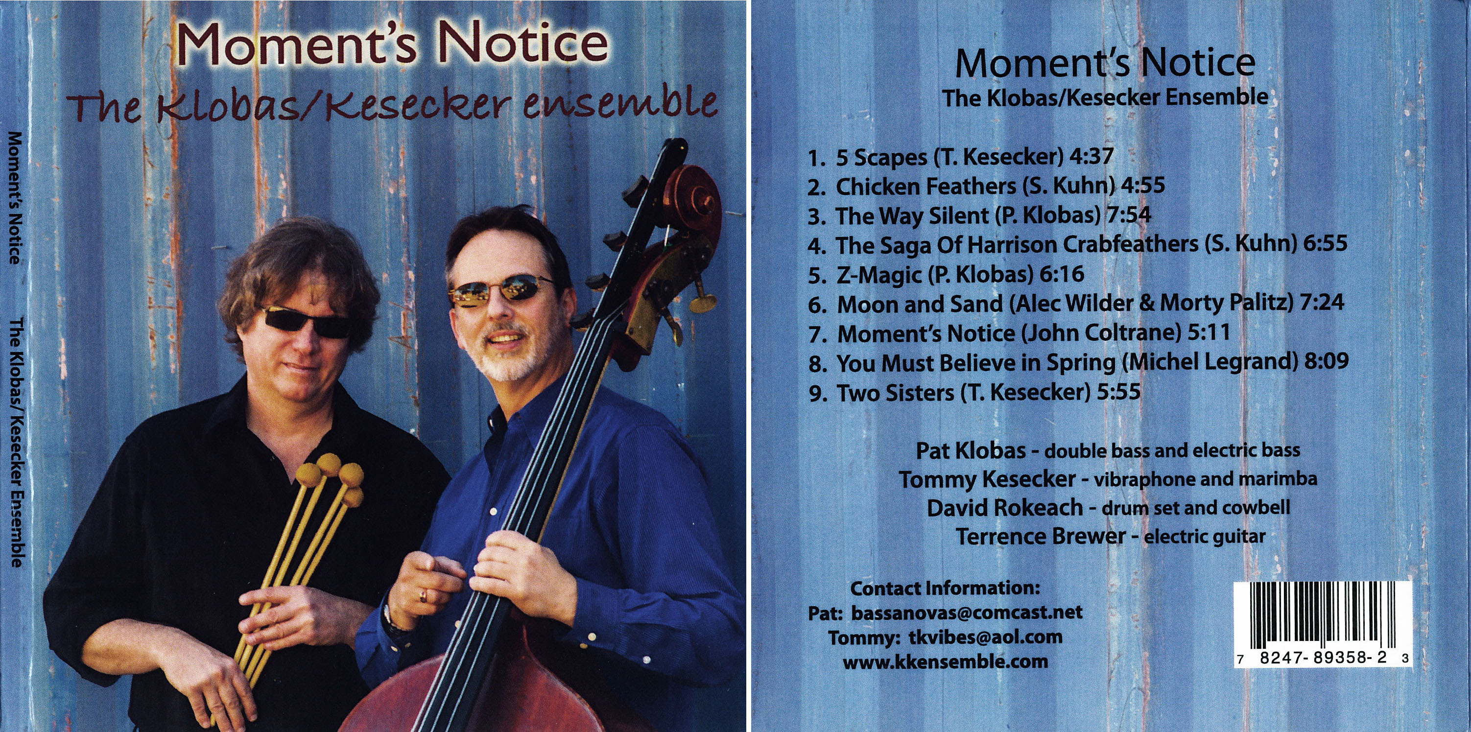 Klobas/Kesecker Ensemble | Moment's Notice