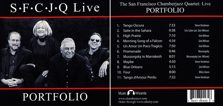 San Francisco Chamberjazz Quartet | Live Portfolio