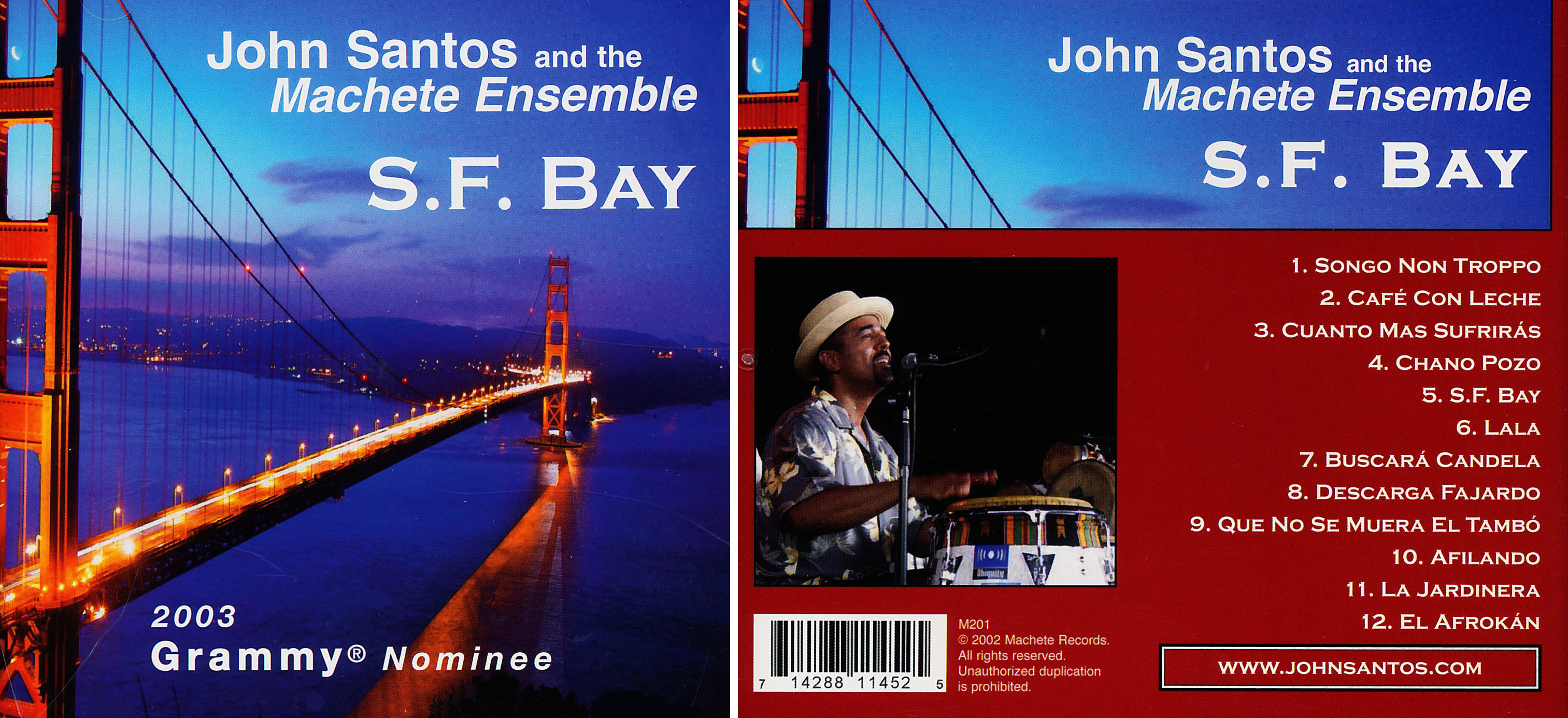 John Santos + Machete Ensemble | SF Bay