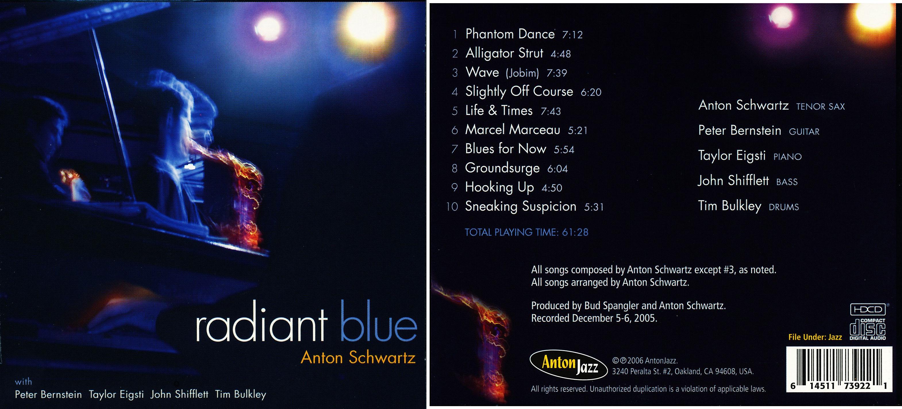 Anton Schwartz | Radiant Blue